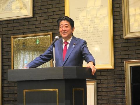 「安陪総理大臣茨城に来る!」 (5)