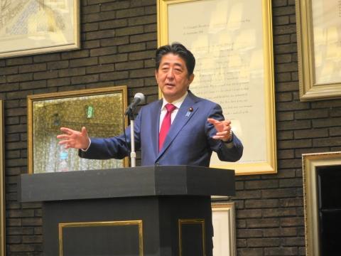 「安陪総理大臣茨城に来る!」 (7)