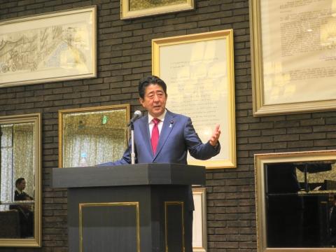 「安陪総理大臣茨城に来る!」 (6)