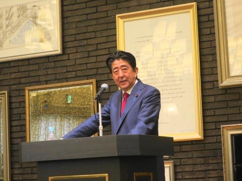 「安陪総理大臣茨城に来る!」 (8)