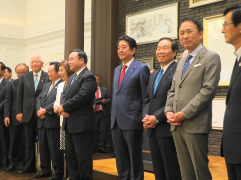 「安陪総理大臣茨城に来る!」 (10)