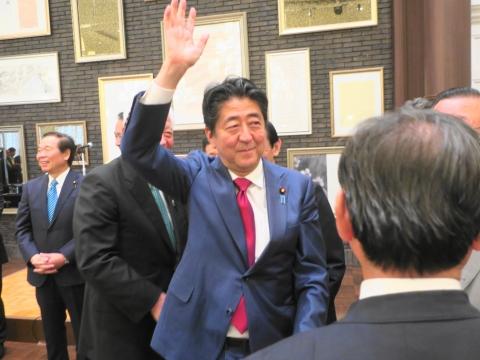「安陪総理大臣茨城に来る!」 (13)
