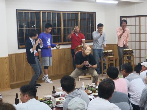 「鹿の子・山王台」笠抜き (3)