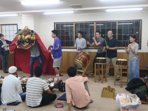 「鹿の子・山王台」笠抜き (5)
