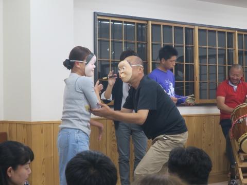 「鹿の子・山王台」笠抜き (8)