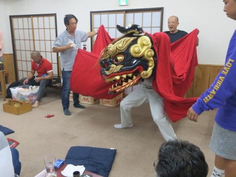 「鹿の子・山王台」笠抜き (11)
