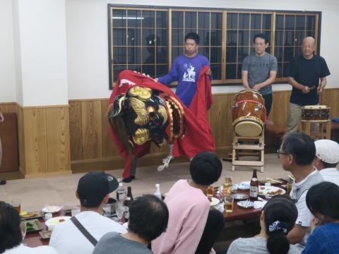 「鹿の子・山王台」笠抜き (13)