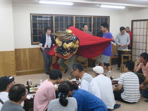 「鹿の子・山王台」笠抜き (15)