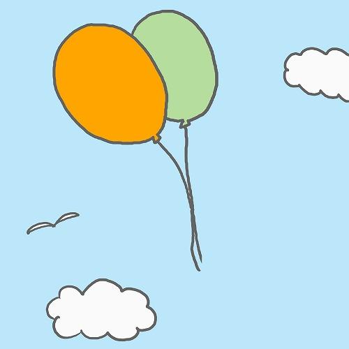 500空を飛ぶ風船