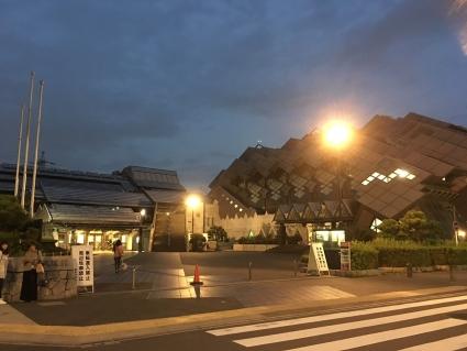 東京武道館夜景
