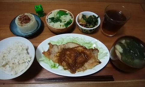 ぽーくそて-20181009