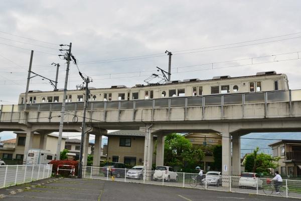 2018年5月2日 上田電鉄別所線 城下~上田 7200系7255編成
