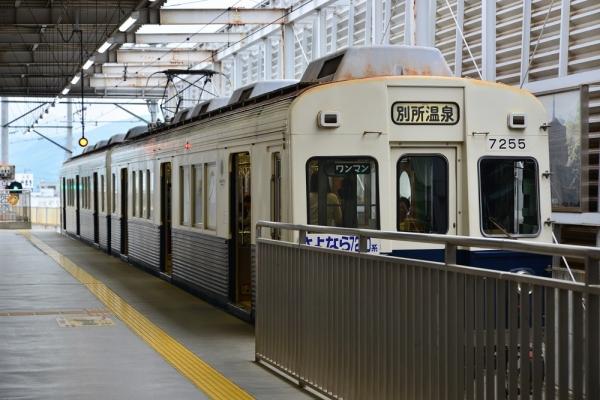 2018年5月2日 上田電鉄別所線 上田 7200系7255編成