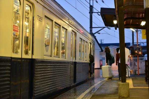 2018年5月2日 上田電鉄別所線 大学前 7200系7255編成
