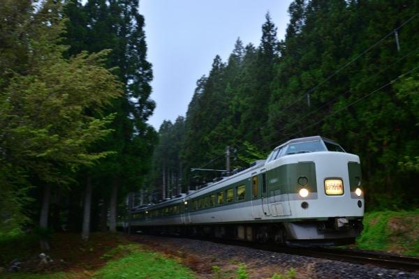 2018年5月3日 JR東日本大糸線 ヤナバスキー場前(臨)~南神城 189系N102編成