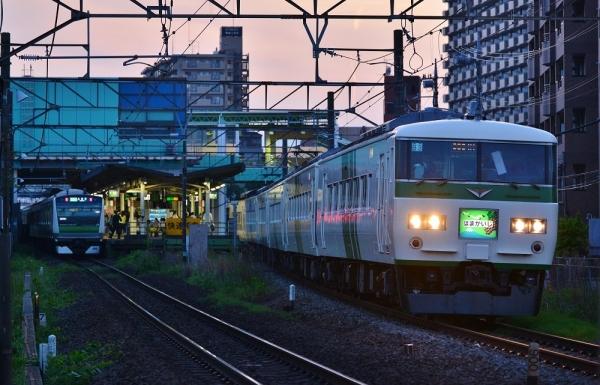 2018年5月5日 JR東日本横浜線 鴨居~小机 185系B3編成