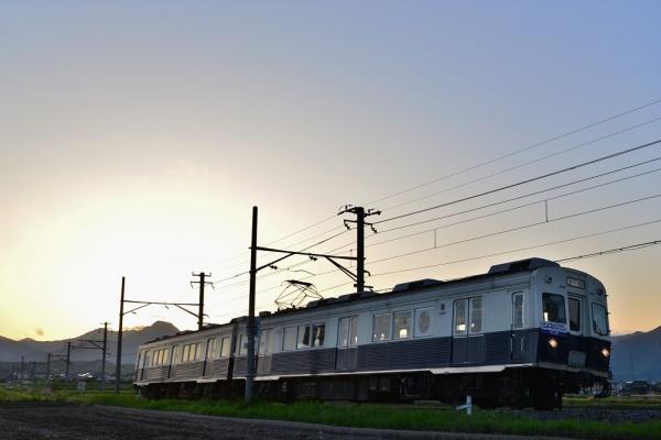 2018年5月10日 上田電鉄別所線 中塩田~下之郷 7200系7255編成
