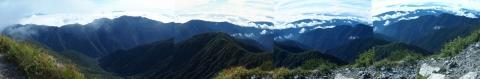 北岳山頂よりblog