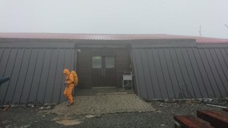 北岳山荘blog