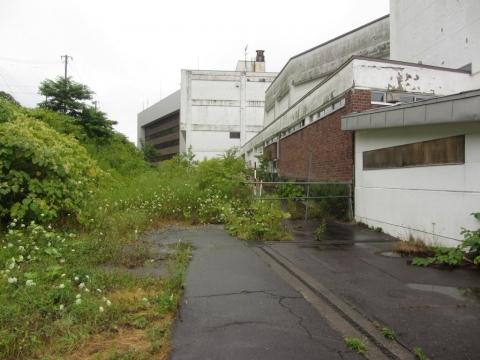 夕張本町駅跡