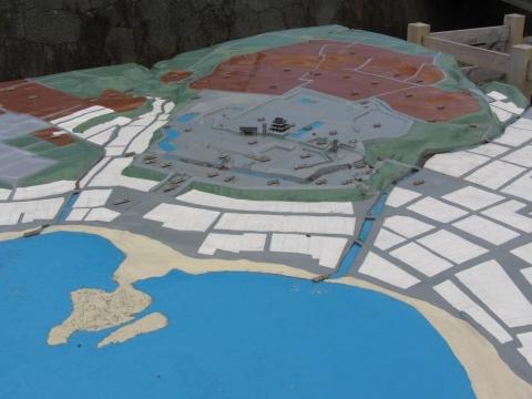 松前城復元模型