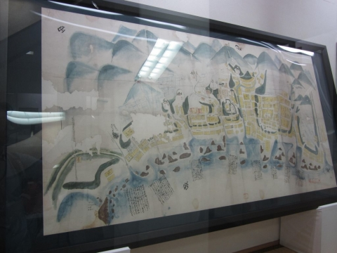 松前市中図