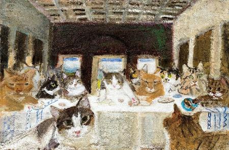久下貴史 猫たちの最後の晩餐