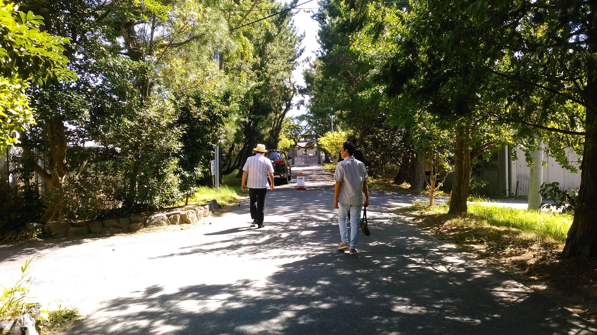 犬頭神社参道