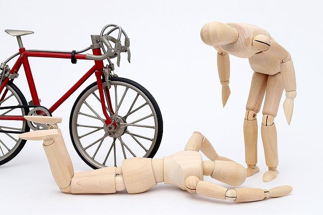 ながら運転 事故 自転車