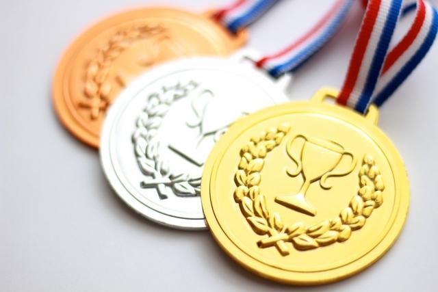 ランキング メダル 金銀銅