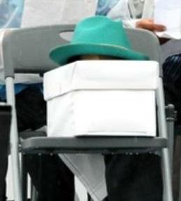修 翁長帽子