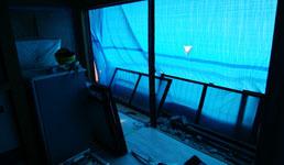 180927 窓枠撤去2