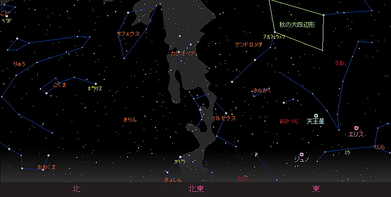 20180813 ペルセウス座流星群星図2