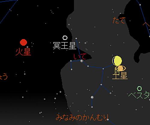 20180821 月と土星の大接近星図4