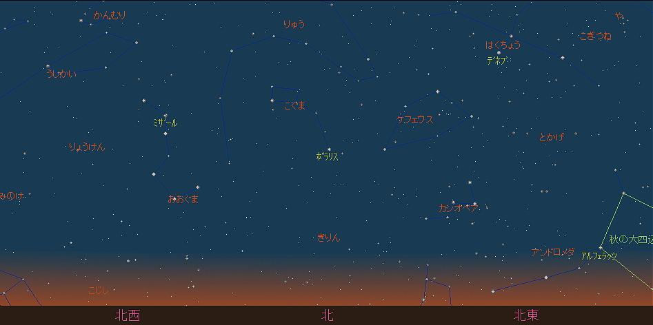 20180901 金星とスピカと秋の空と星図6