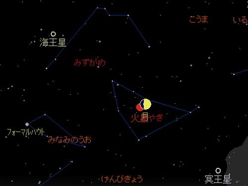 20181018 月と火星の大接近星図1