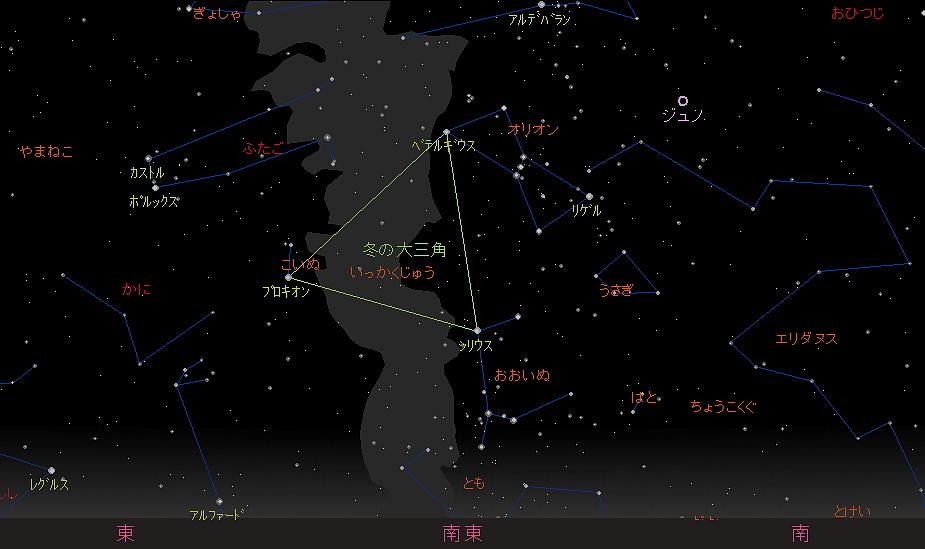 20181022 オリオン座流星群星図2