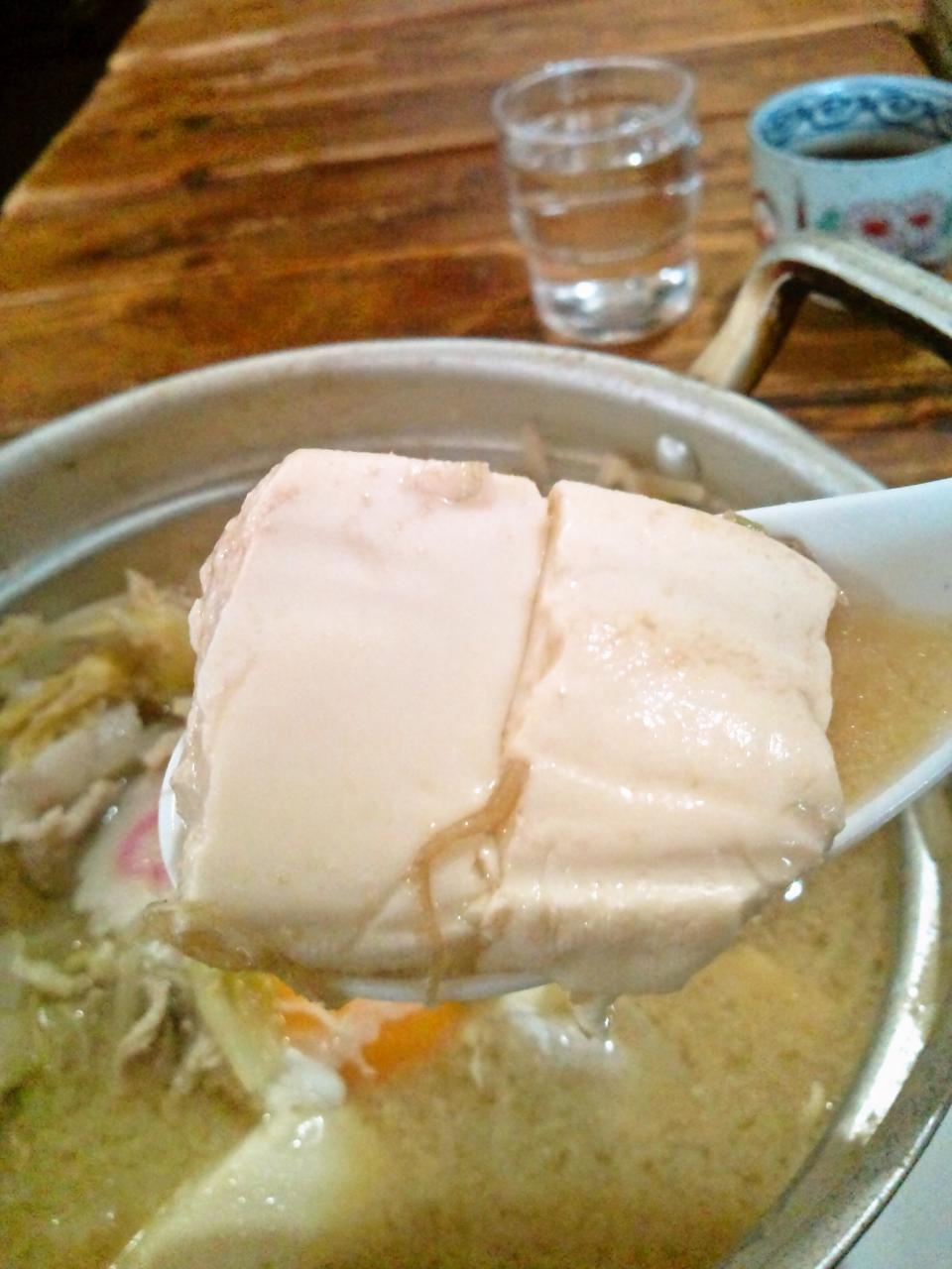 山の五代(肉鍋定食Wチョモランマ)
