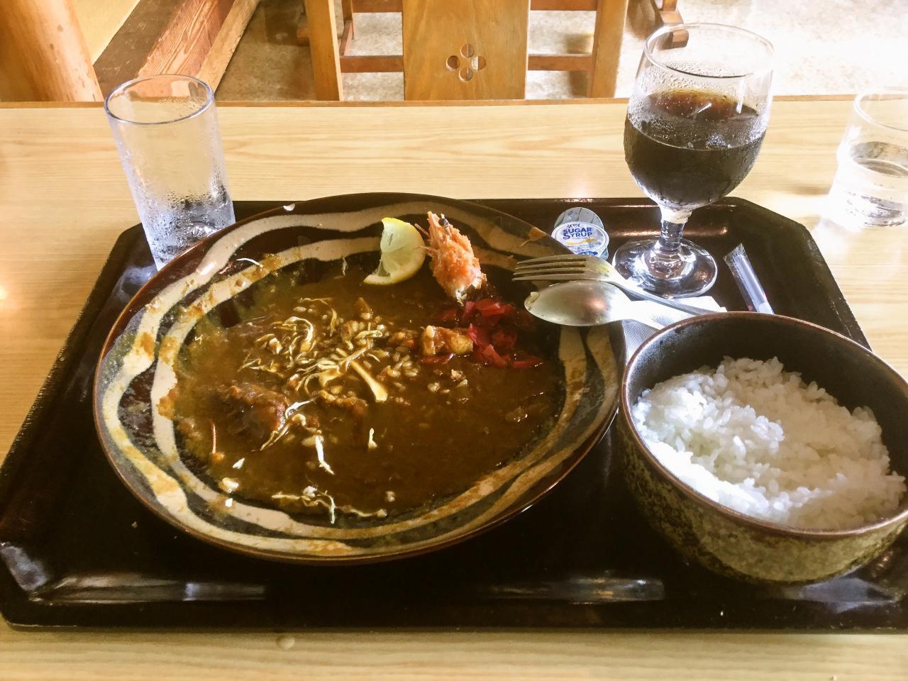 ビッキ石(傾奇者カレー)
