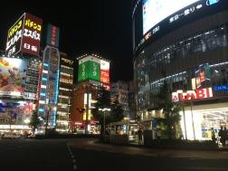 出発前新宿