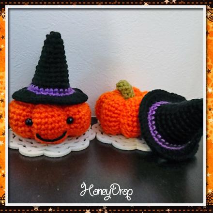 かぼちゃ魔女帽子セット