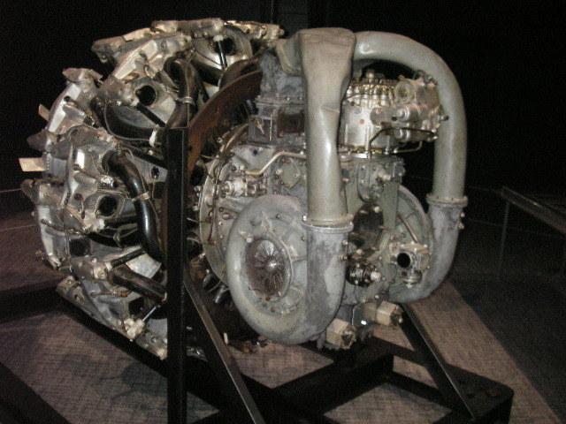 三菱ハ42(ハ214)エンジン201806