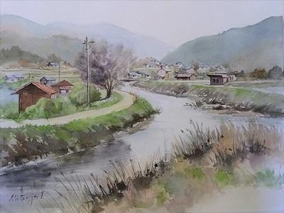 早春の高野川