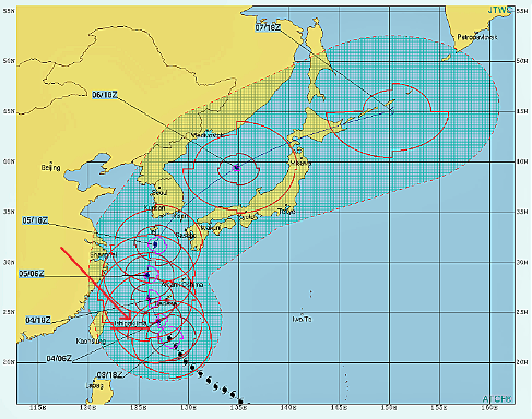 台風25前日-c beigun20181004
