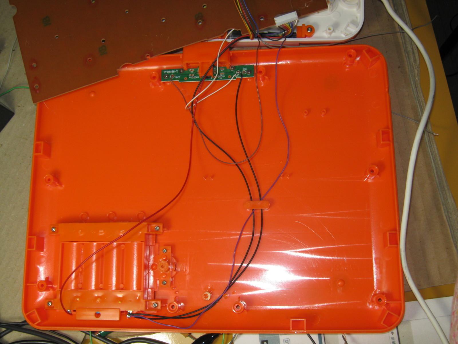 アンパンマンカラーパソコン(リード線断線)下側1