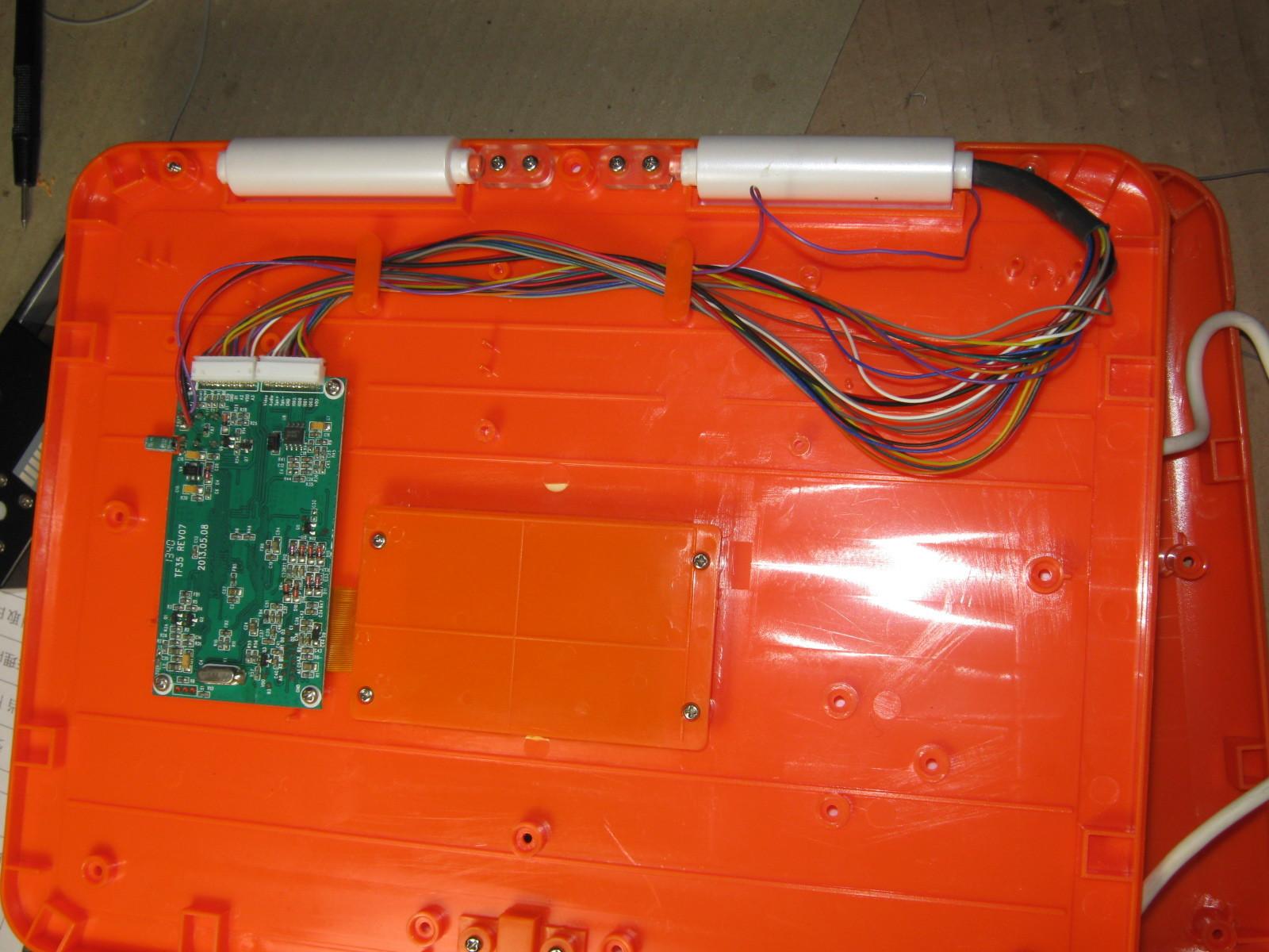 アンパンマンカラーパソコン(リード線断線)上側1
