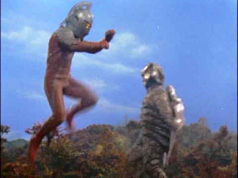 ウルトラセブン vs ベル星人