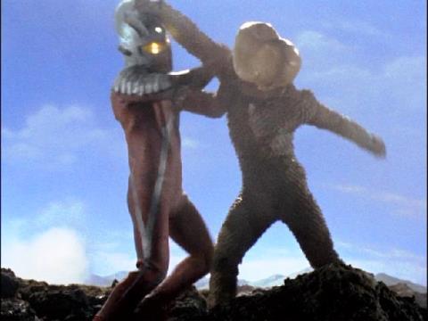 ウルトラセブン vs バド星人