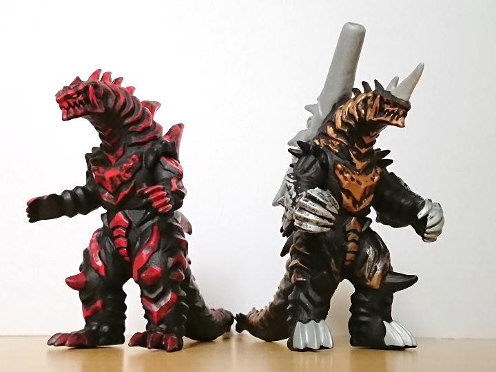 ウルトラ怪獣シリーズ グルジオキング4