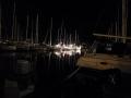 夜のHTBマリーナ